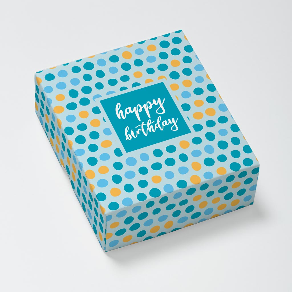 Birthday Dots Photouch Box