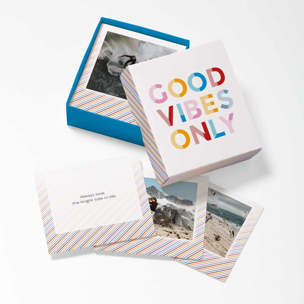 Opened Good Vibes Photouch Box