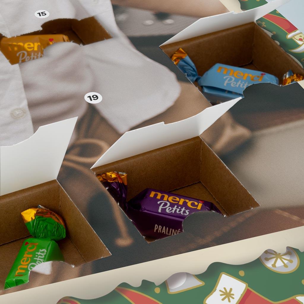 Santa Christmas Photouch Calendar Back