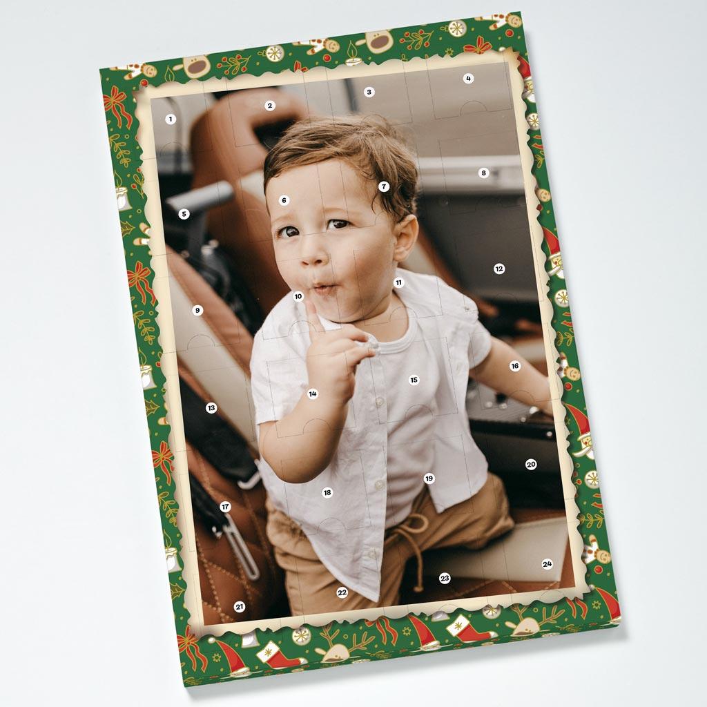 Santa Christmas Photouch Calendar
